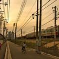 夕焼け電車