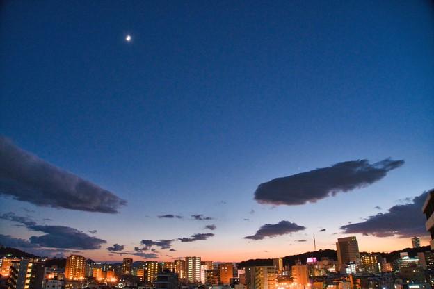 Photos: 二大惑星(今日は木星・土星がもうちょっと近くみえますとな)