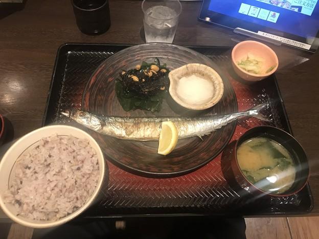 大戸屋・さんま定食