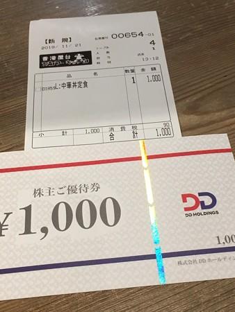 カンフーキッチン・優待