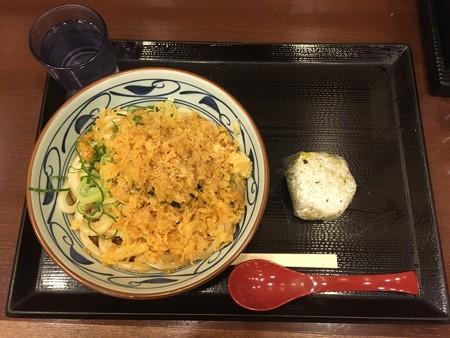 丸亀製麺・料理