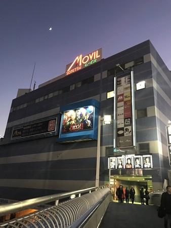 元日の映画館