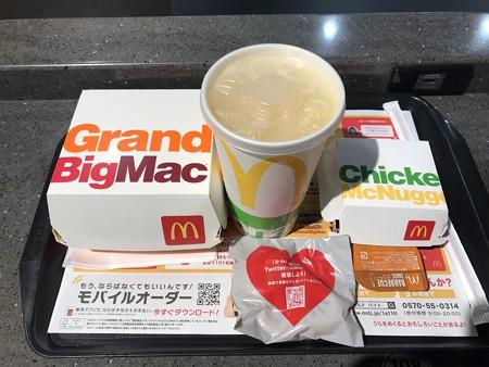 マクドナルド・料理