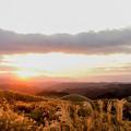 写真: 阿蘇初日の出