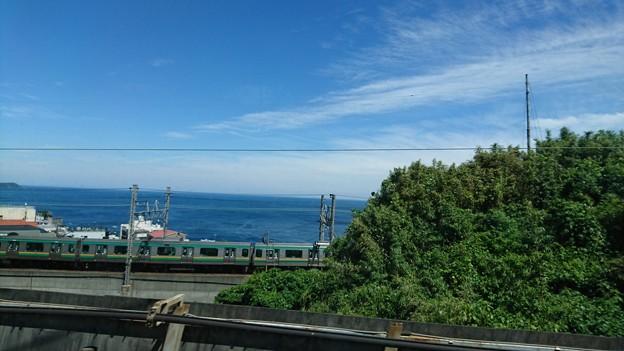 何故か新幹線に乗っている…お昼作って食べて、ひと息つくはずだったのに…片付けも途中なのに… いつから、?清水vs横浜観に行くことになってたんだ