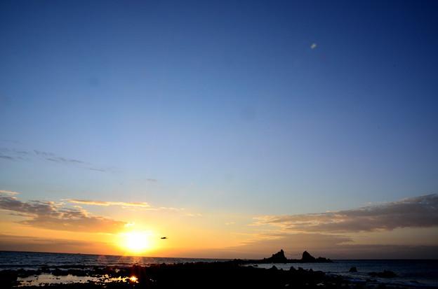 真鶴半島 三ツ石の空1