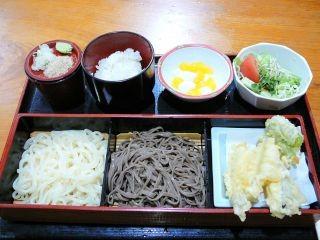 蕎麦うどん天ぷら