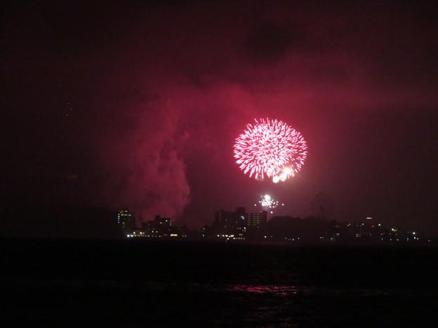 Photos: 浜名湖かんざんじ温泉灯篭流し花火大会