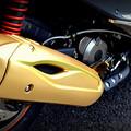 写真: レーシングキングマフラーカバー塗装Ver2