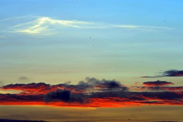 Photos: 06 紅に染まる雲
