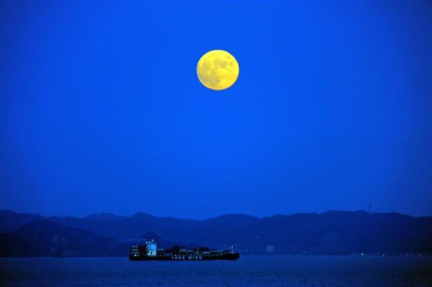 Photos: 10 闇に満月