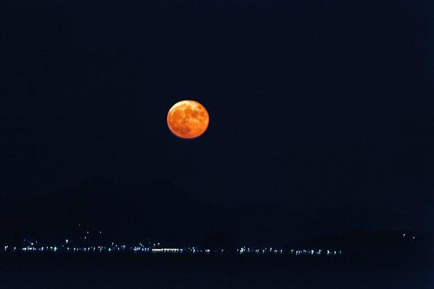 14 まん丸月