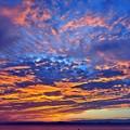 Photos: 01 金色に輝く雲