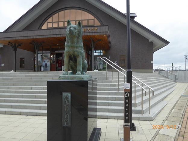 忠犬ハチ公像 大館