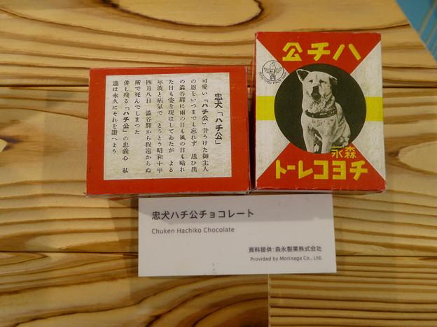 森永ハチ公チョコレート