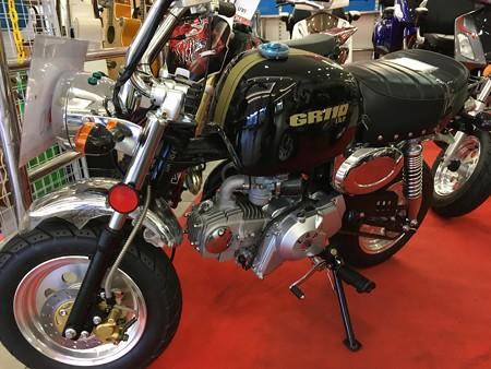 ゴリラに似たバイク