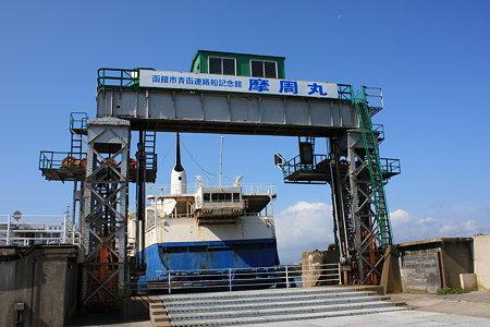 青函連絡船 現在の可動橋