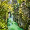 柱状節理の峡谷