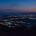 写真: 田舎の夕景