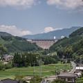 Photos: ダム下から