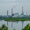 写真: 球磨川沿い