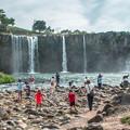 写真: 原尻の滝