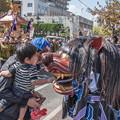 Photos: にらめっこ