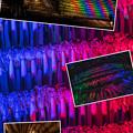 写真: 大根やぐらライトアップ collage