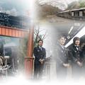 railway collage