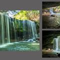 Photos: 裏見の滝 collage