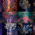 きくち夏祭り(花火)collage