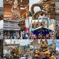 Photos: 八朔祭大造り物collage