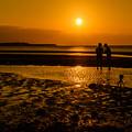 Photos: 真玉海岸の夕陽