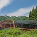 Photos: 球磨川第二橋梁流失