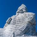 倉岳の大えびす像