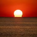 魚貫のだるま夕陽