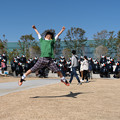 Photos: 54体くまモン合唱隊の前で