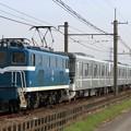 臨貨8019レ デキ504+東京メトロ13000系13103F 7両+デキ301