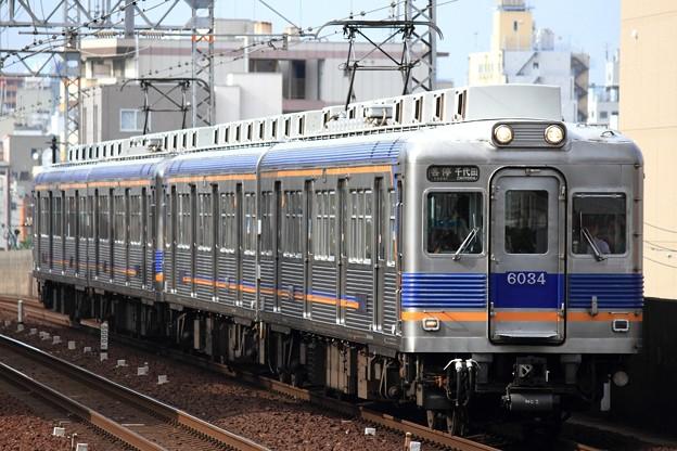 6315レ 南海6000系6915F+6907F 4両