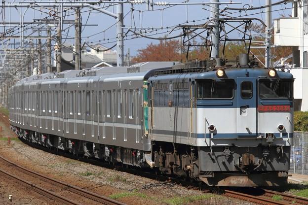 Photos: 8860レ EF65 2089+東京メトロ13000系13118F 7両