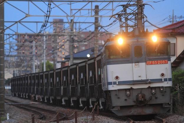 5783レ EF65 2087+ホキ