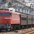 Photos: 回9141レ EF81 81+旧型客車 5両