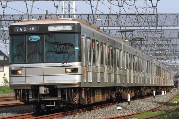 臨回5674S 東京メトロ03系03-111F 8両