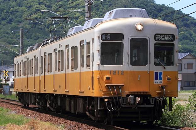 34レ 高松琴平電鉄1200形1211F 2両
