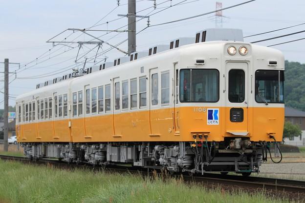 28レ 高松琴平電鉄1100形1107F 2両