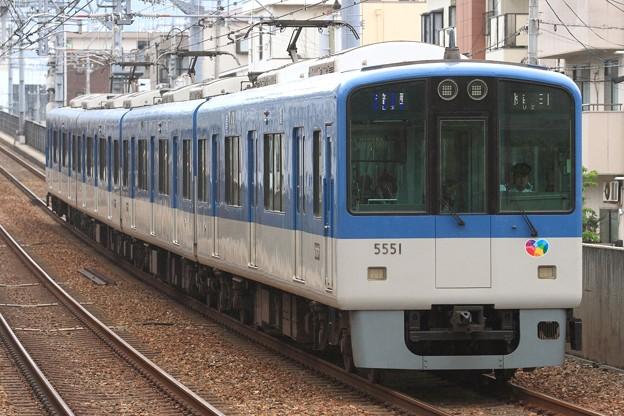 1260レ 阪神5550系5551F 4両