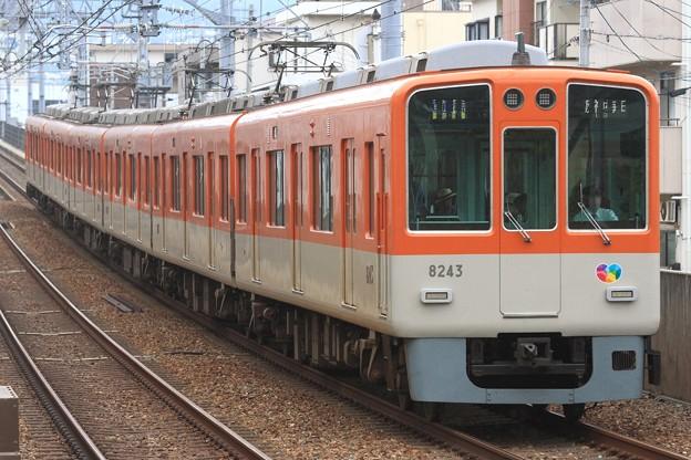 9414レ 阪神8000系8243F 6両
