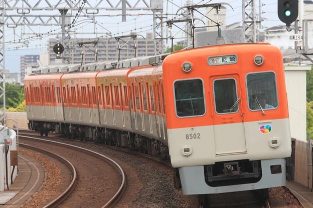 1347レ 阪神8000系8523F 6両