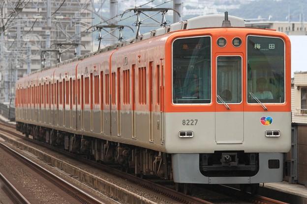 1440レ 阪神8000系8227F 6両