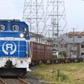 写真: 12レ DD56 4+コキ